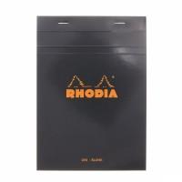 Rhodia Pad No. 16 - A5 - Blank - Black