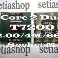 Processor Prosesor Laptop Notebook Intel Core 2 Duo T7200 T5500 T5600