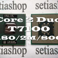Processor Prosesor Laptop Notebook Intel Core 2 Duo T7100 T4200 T4300