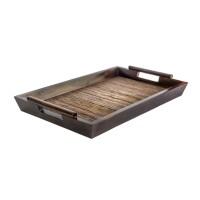 Samalona | nampan tray kayu lidi hotel restaurant cafe dekorasi dapur