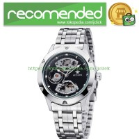 Ouyawei Skeleton Stainless Steel Automatic Mechanical Watch - OYW1321