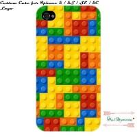 custom case iphone 5 / 5S / SE / 5C LEGO Design