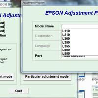 RESETTER EPSON UNLIMITED 1PC L110-L210-L300-L350-L355-L550-L555
