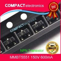 MMBT5551 2N5551 SMD NPN TRANSISTOR G1 SOT23