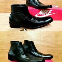 harga Sepatu Pantofel Nike Resleting Tinggi Kulit Asli Sepatu Kerja Pria Tokopedia.com