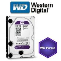 HDD khusus CCTV 2TB SATA (WD Purple Surveillance hard Drive) Garansi 3