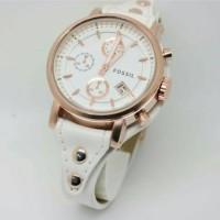 Terbaru.!! Jam tangan wanita, Fossil lether, tgl aktif/on, kw super