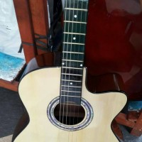 Jual gitar akustik limited edition + bonus lengkap Murah