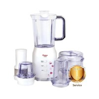 COSMOS Blender Plastik 1.2 Liter 4 in 1 - Edelweiss Series CB-802