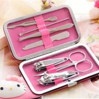 Jual K3101 Hello Kitty Manicure Set 7pcs / Alat Manicure Pedicure Set Murah