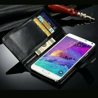 Flip Cover Samsung Galaxy Note 4 Wallet Leather Case