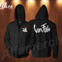 Jaket Sweater Hoodie Zipper OI IWAN FALS (Must Have) keren ALFAMERCH