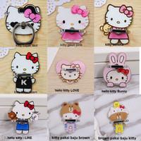Jual Iring / Ring Holder / Penyangga Handphone Karakter Lucu Hello Kitty Murah