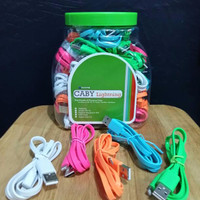 Hippo Caby Lightning Toples (Isi 50 Pcs) - Kabel Data & Kabel Charging