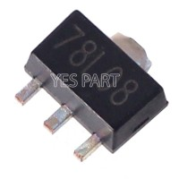IC 78L08 SMD 7808 0.1A 8V Positive Voltage Regulator SOT89