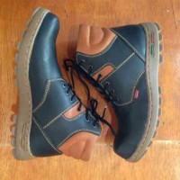 sepatu kickers boots black kombinasi premium4