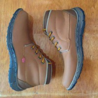 sepatu kickers boots tan premium4