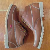 sepatu kickers low boots tan premium4