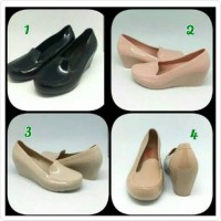 Jual Jelly Shoes Wedges merk Bara-Bara Murah