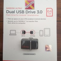 Jual Sandisk OTG Flash Disk 64GB USB 3.0 Murah