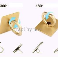 TERBATAS Stand hp + ring tempel bentuk cincin HCR016 PALING MURAH