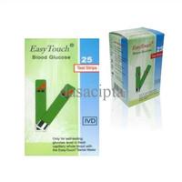 Jual SPESIAL Strip Gula darah Glucose Easy Touch GCU TERLARIS Murah