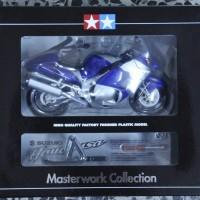 Diecast Hayabusa 1300 Blue Masterworks TAMIYA