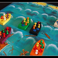 [PROMO] Lifeboats Board Game