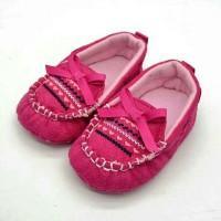 BBB Sepatu Prewalker Bayi Fuschia Ribbon