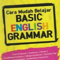 Cara Mudah Belajar Basic English Grammar