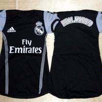 Harga baju bola bayi anak cewek baby dress real madrid 3rd 16 | antitipu.com