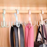 [New] Gantungan Serbaguna Baju Celana Scarf Ikat Pinggang Tas Dapur -