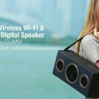 GGMM M4 WIRELESS WI-FI & BLUETOOTH PORTABLE SPEAKER HIFI