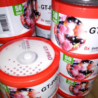 PROMO DVD KOSONG BLANK DVD + R DOUBLE LAYER DL 8.5GB 8.5 GB TABUNG ISI 5