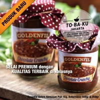 Selai Coklat Crunchy Cream Crispy Goldenfil Chocolate Ovomaltine 150gr