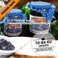 Goldenfil Blueberry Jam Selai Blueberry Premium 50% Buah Asli 150gr