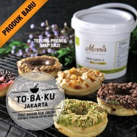 Tepung kue Donat Instan Premix Donut Premiks Siap Saji Premium 1 pail