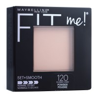 Maybelline Fit Me Set + Smooth Powder - 120 Classic Ivory