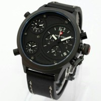 Jual Jam Tangan Swiss Army Triple Time Chrono Aktif Super Keren Murah