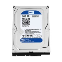 WD Blue 500GB Desktop Hard Disk Drive - 7200 RPM SATA 6 Gb/s 16MB