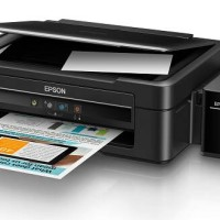 PRINTER EPSON L360 ( PRINT SCAN COPY) PENGGANTI L220 infus sistem