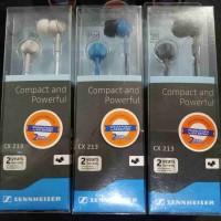 Sennheiser CX213 : Stereo Earphone CX 213 / Handsfree / senheiser