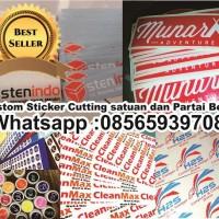 Cutting Sticker Custom untuk Logo MURAH