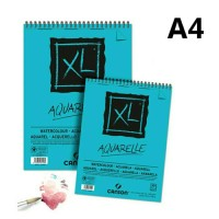 canson XL watercolor pad a4 ring