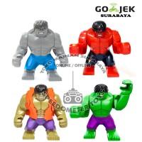 Jual Blocks Murah (lego) Hulk isi 4   Mainan Edukasi Anak Murah