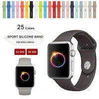 Sport Strap Band for Apple Watch iWatch 42 mm rubber