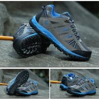 Jual Sepatu Gunung KETA 427 GREY BLUE - Hiking / Outdoor / SNTA Murah