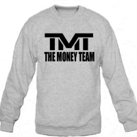 Sweater Floyd Mayweather The Money Team - Grey