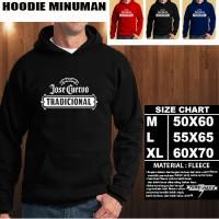 JAKET HOODIE MINUMAN jose cuervo tradicional silver Hoodie/Sweater