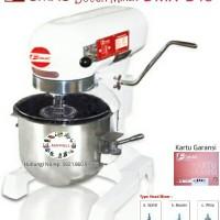 Mixer Roti & kue Fomac Dough Mixer DMX-B15 kapasitas adonan 5 kg